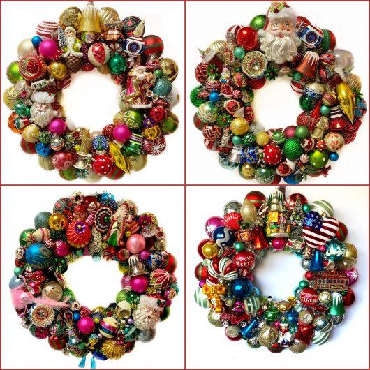 4 ball wreaths